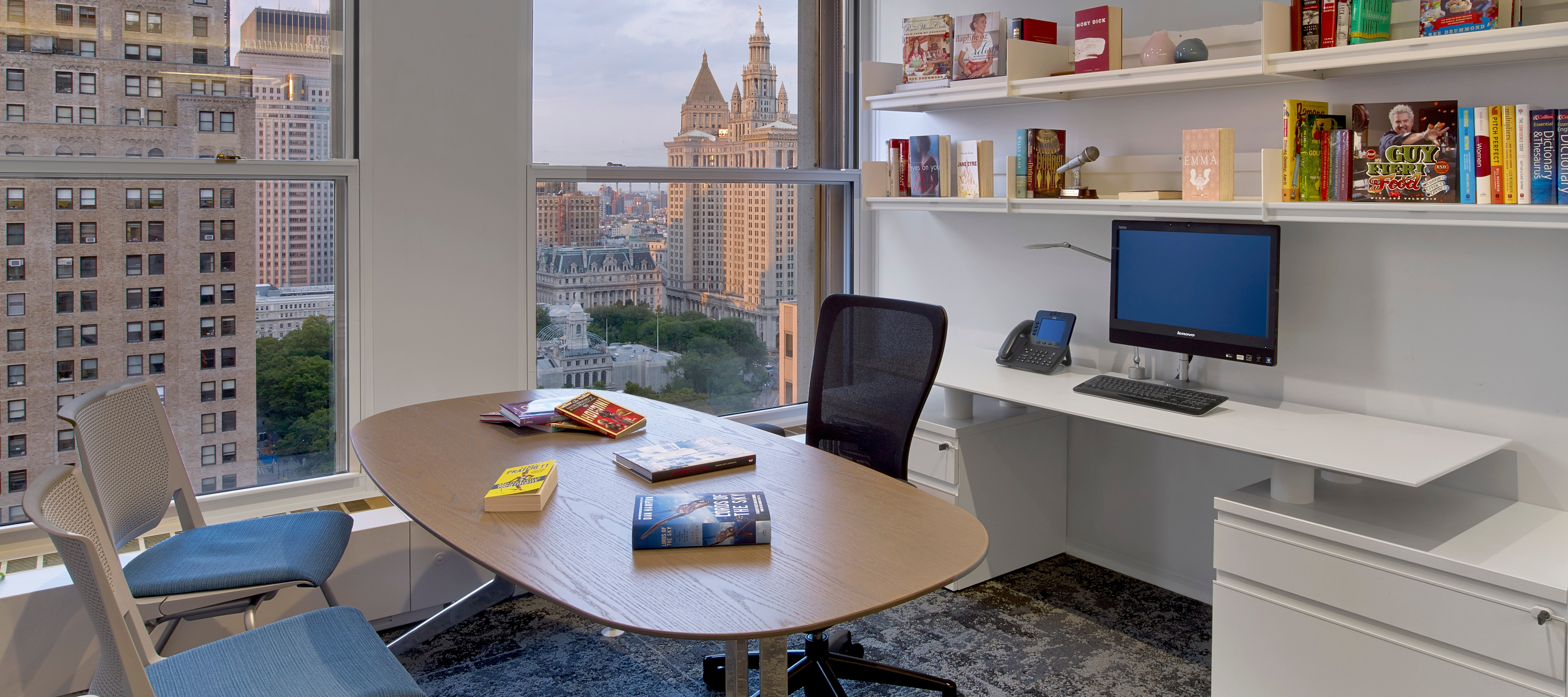 Taken at Haworth's Harper Collins client space.