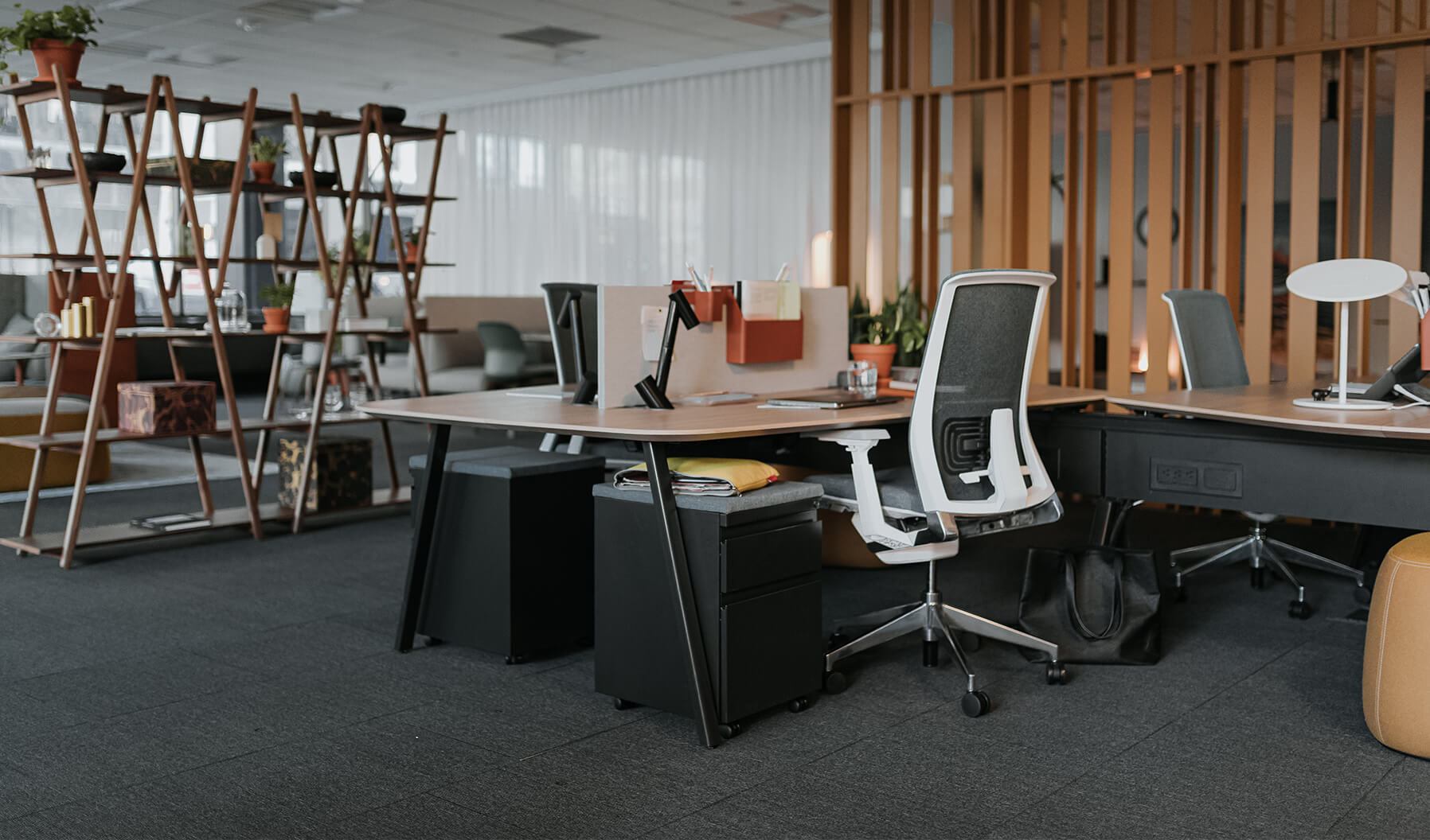 The layering of spaces is demonstrated here in showing how a