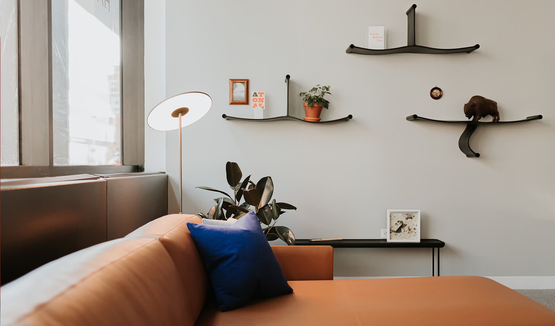 The range of products around this lounge application, such as the use of