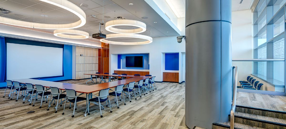 At the start of the project, the organization put a highly collaborative team in place, engaging partners across disciplines. While the tower addition became the solution for connecting staff to enhance collaboration, the process of planning the new space in itself demonstrated how this highly collaborative organization functions.