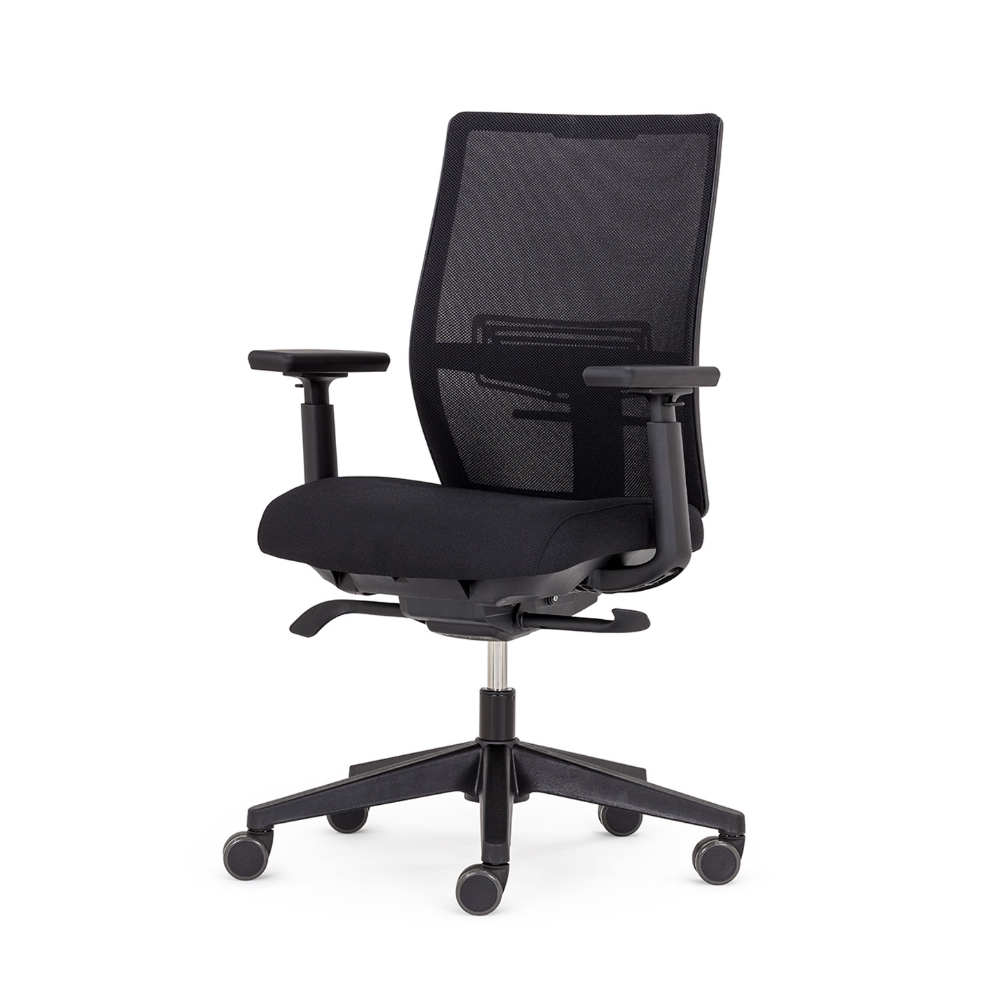 Black Aloha Active office chair with mesh back