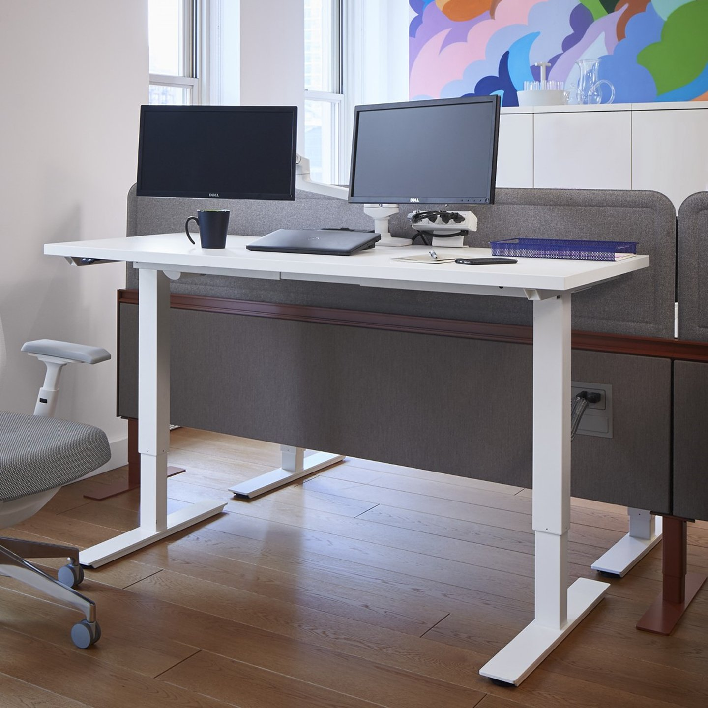 Discover Haworth S Hop Height Adjustable Tables Haworth